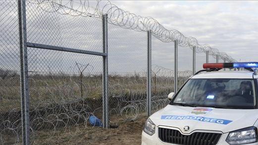 Több mint 100 illegális migráns próbálkozott Hercegszántónál