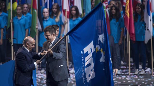 Köszönetet mondott minden idők legjobb világbajnokságáért a FINA elnöke