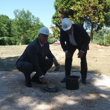 Alapkőletétel - Új városháza épül Törökbálinton