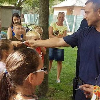 Ezek a gyerekek a Zsaru Tábort választották