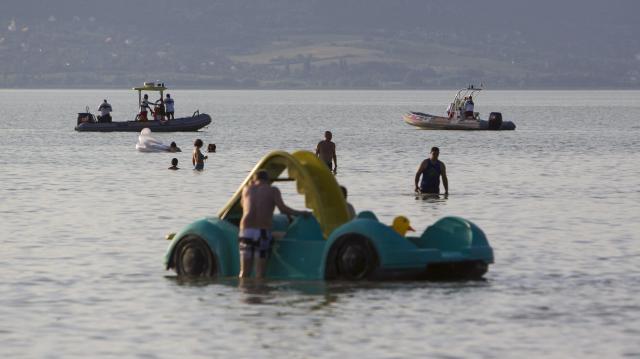 Halálos ugrás - Senki nem tudott úszni a vízibiciklin