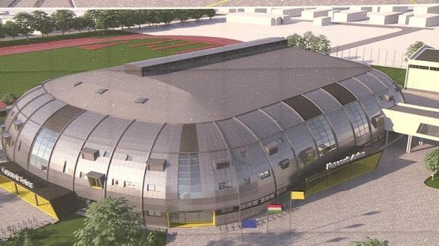 Multifunkcionális sportcsarnok lesz az épülő Kaposvár Aréna