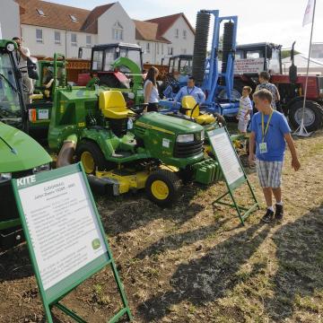 Traktorok mellett favágókkal is találkozhatunk a Hajdúsági Expón