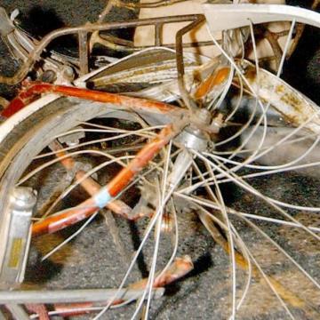 Zebrán gázoltak halálra egy biciklist Püspökladányban