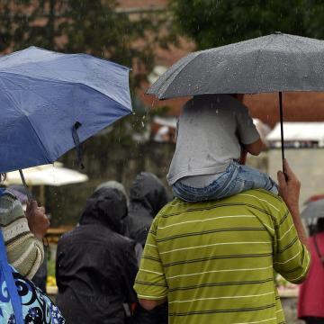 Augusztus 20. - Meteorológiai szolgálat: országszerte várható eső