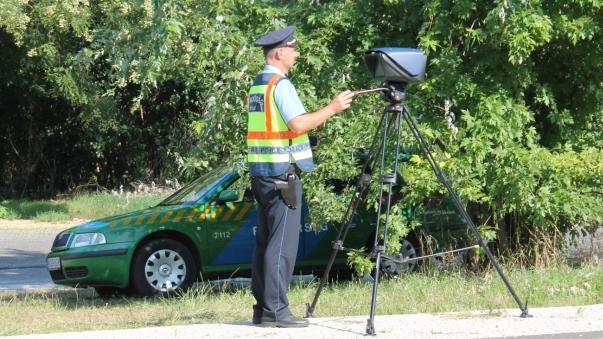 Sebességmérés Borsod-Abaúj-Zemplén megyében