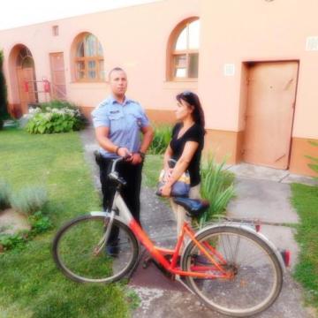 Visszaadták az ellopott kerékpárokat