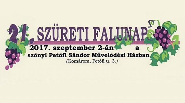 Bográcsgulyás, sport, mulatság, különleges kiállítás – Szüreti Falunap Szőnyben
