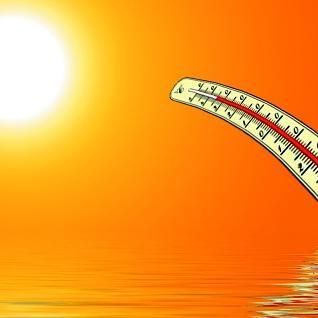 Csúcsot döntött a meleg augusztus utolsó hétvégéjén