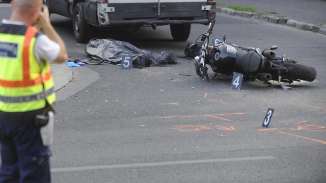 Halálos motorbaleset történt Sajóládnál