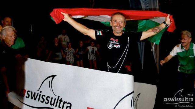 Minden idők legjobbjával nyerte meg Szőnyi Ferenc a svájci tízszeres Ironmant