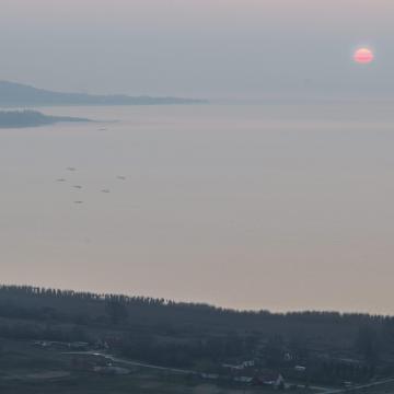 Eltűnt egy horgász a Balatonban