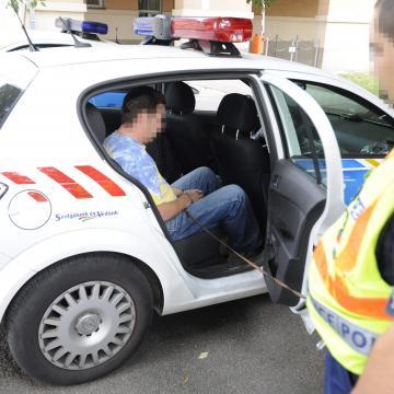 Tegnap tettenéréseknél intézkedtek a rendőrök
