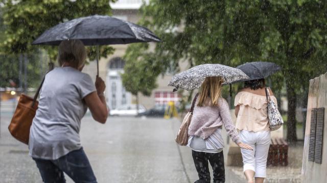 Többször várható eső a héten, de melegszik is az idő