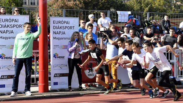 A tavalyinál is több résztvevőre számítanak az Európai Diáksport Napján