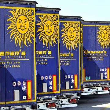 Önvezető kamionokat tesztelt a Volvo és a Waberer's az M1-esen