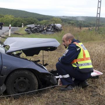 Halálos baleset történt Edelény közelében