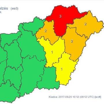 Heves szél és temérdek eső - Ítéletidő jön Kelet-Magyarországra