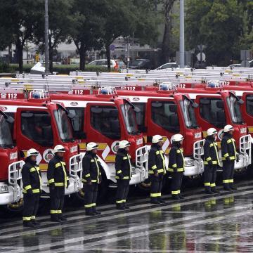 Új tűzoltóautók teljesíthetnek szolgálatot szerte az országban