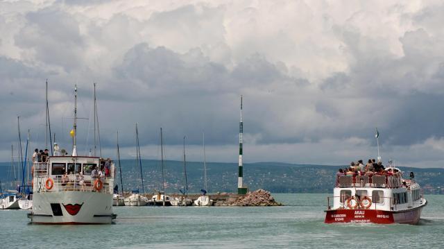 Egyre többen szállnak vízre a Balatonon