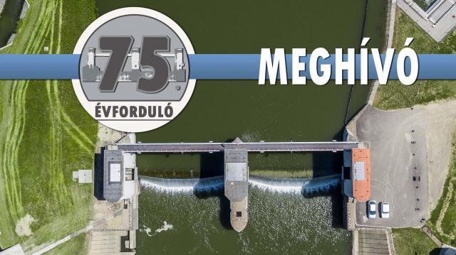 75 éves a békésszentandrási vízlépcső
