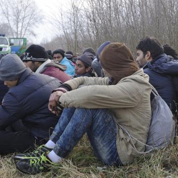 A Gyulánál elfogott határsértőket átadták a román hatóságoknak