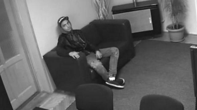 Egy irodából próbált laptopot lopni