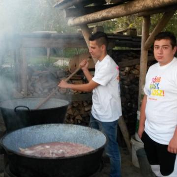 Kutyáknak főztek az önkéntesek szerte az országban
