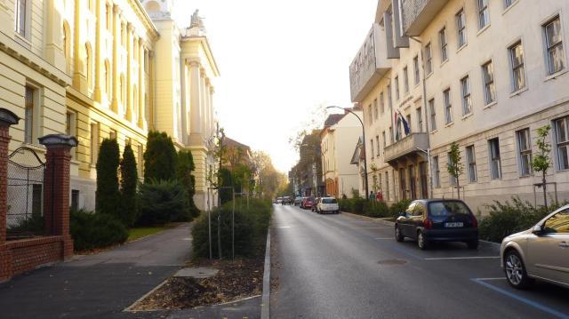 25 év után teljes hosszában megnyílt Kaposváron a Bajcsy- Zsilinszky utca