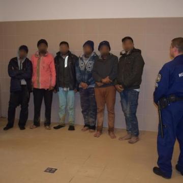 Illegális migránsokat tartóztattak fel Baranyában