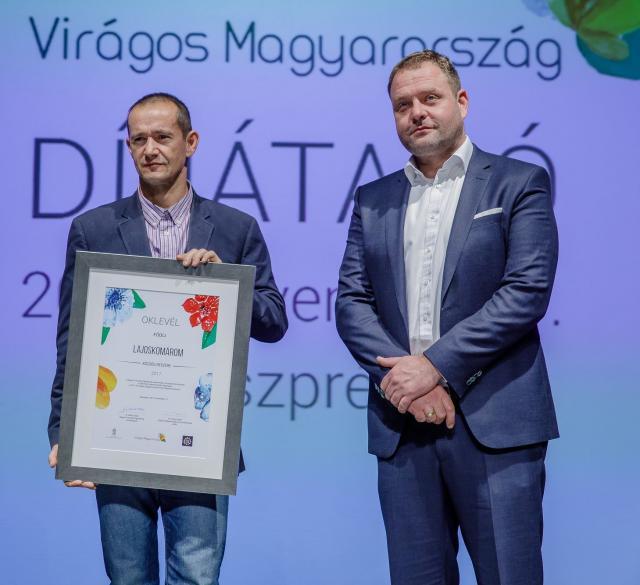 Kitüntették térségünk települését - Átadták a Virágos Magyarország elismeréseket