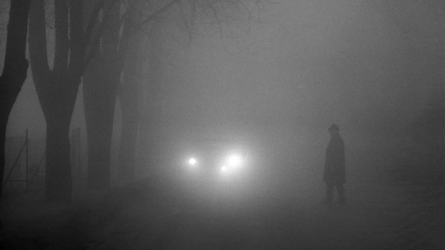 Sűrű ködre ébredtünk