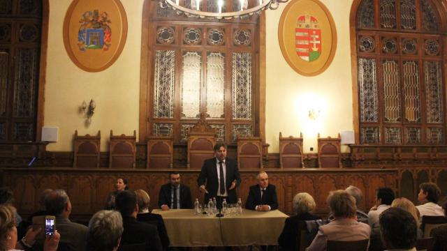 Lomnici Zoltán volt a Kaposvári Civil Parlament vendége