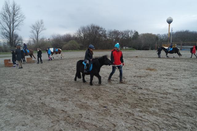 Ezerötszáz gyerekhez látogatott el a lovas Mikulás