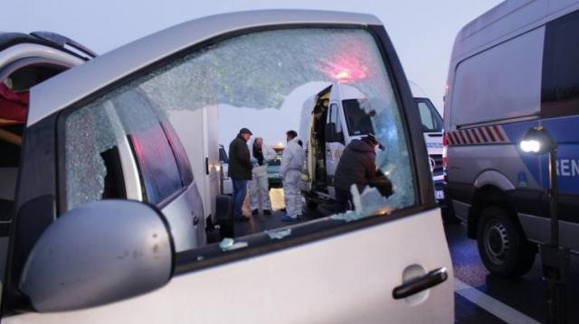 Gyilkosság történt az M5-ös autópálya csengelei pihenőjében