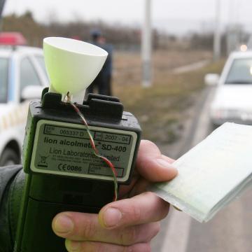 Négy ittas vezetőt is fogtak a rendőrök