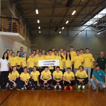 Sportban is verhetetlenek a kaposvári egyetemisták