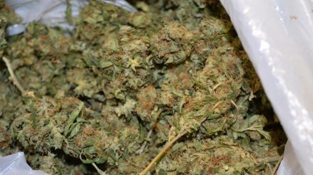 Az illat árulta el a marihuánát a határon