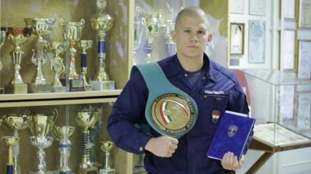 Az őrmester kiharcolta a magyar bajnoki címet