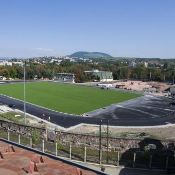 Megújul az egri futballstadion