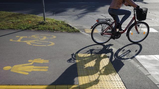 Új sebességbe kapcsolnak a biciklisút-fejlesztések
