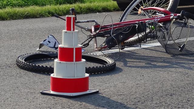 Frontálisan ütközött bicikli a biciklivel