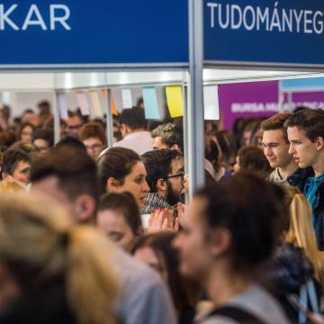 A fővárosban toboroz hallgatókat a Kaposvári Egyetem