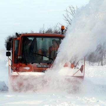 Észak-Magyarországon hófúvásra figyelmeztet az Útinform