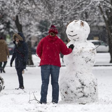 Hideg, télies időjárással kezdődik a hét