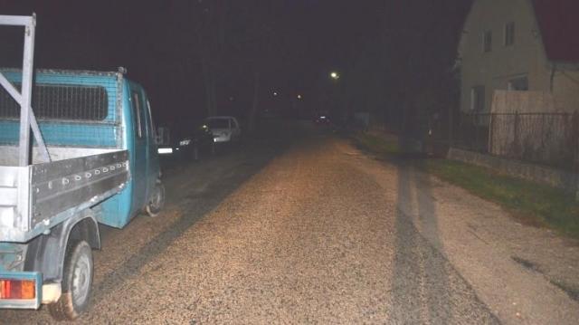 Ittas teherkocsis okozott balesetet