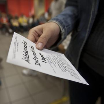 4 százalékkal csökkent az álláskeresők száma a megyében