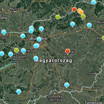 Szálló por - Két településen veszélyes a levegő minősége