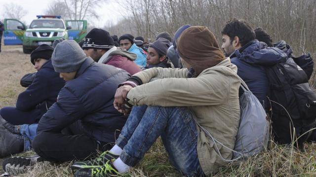 Illegális bevándorlás - Hatvanhat határsértőt tartóztattak föl a hétvégén