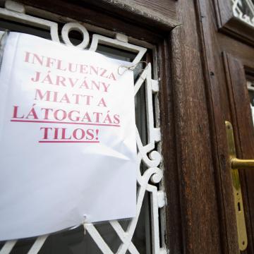 Újabb kórházakban van látogatási tilalom az influenza miatt
